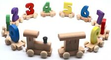 Wooden Train Set Toy For Toddler 2 Years and Up Children Toy