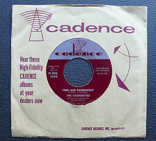 """7"""" The Chordettes - Teen Age Goodnight - US Cadence"""