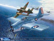 ART PRINT: F4F Wildcat Ohare Medal of Honor - Print by Shepherd