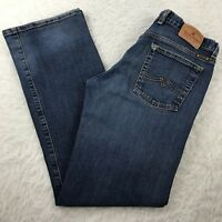 Lucky Brand Boot Cut Jeans Women's Sz 8/29 Made in USA Dark Wash Mid Rise 30x31