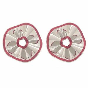 Orecchini donna CHOICE by CHIMENTO 01134186 acciaio smaltati pendenti rosa clip