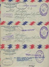 VENEZUELA 1945 FREE THREE FRANK OFFICIAL MINISTRY OF COMMUNICATION AIRMAIL COVER