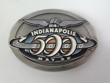 2000 Indianapolis 500 Belt Buckle Limited Edition 273 of 500 Pewter Montoya