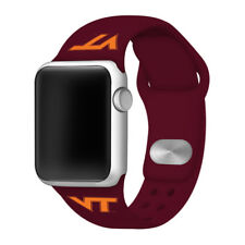 Virginia Tech Hokies Silicone Sport Band Compatible With The Apple Watch