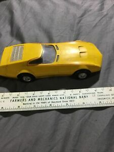 Amaze A Matics Yellow Chrysler Charger III # 5860 by Hasbro 1969 Made In Japan