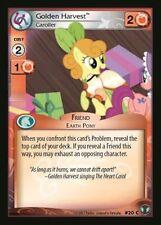 1x Golden Harvest Caroller 20 C - My Little Pony Defenders of Equestria MLP CCG