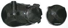 HONDA CBR600 PC35 99-02 2x CARBON KUPPLUNGSDECKEL LIMADECKEL CARBONO CARBONE