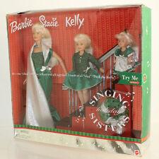 Barbie Dolls - 2000 Singing Holidays Sisters Giftset (Barbie Stacie Kelly) *NM*
