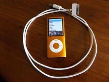Apple Ipod Nano 4th Gen 8 gig orange