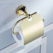 Toilet Paper Holder Luxury Gold Brass Tissue Roll Paper Bathroom Accessories