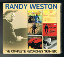 RANDY WESTON - THE COMPLETE RECORDINGS 1958-1960 - COFFRET 3 CD SET - NEUF NEW