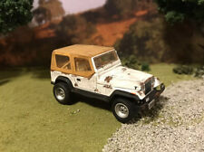 1987 Jeep Wrangler 4x4 Custom Weathered Rusty Barn Find 1/64 Diecast Car Rust