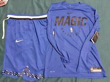 Nike Nba Orlando Magic Warmup Shirt And Nike Shorts Sz L