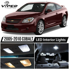 2005-2010 Chevy Cobalt White LED Interior Lights Package Kit