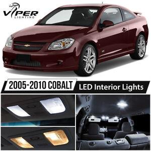 2005-2010 Chevy Cobalt White LED Interior Lights Package Kit
