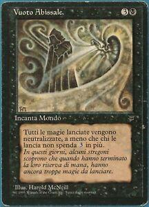 Nether Void Legends (ITALIAN) HEAVILY PLD Black Rare CARD (233914) ABUGames