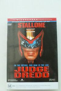 Judge Dredd Rare R4 DVD - Sylvester Stallone Sci-FI Action Movie - Free Post