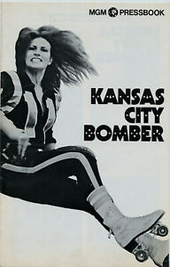 RAQUEL WELCH • KANSAS CITY BOMBER • 1972 • 16 pgs • Unfolded, Uncut • MGM