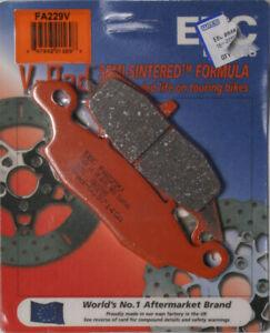 For 04-12 Suzuki DL650 V-Strom V-Pad Semi-Sintered Front Brake Pads (2 Sets) EBC