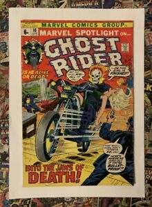 MARVEL SPOTLIGHT #10 - JUN 1973 - 1st WITCH-WOMAN APPEARANCE! - FN- (5.5) PENCE!