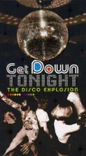 DISCO EXPLOSION-GET DOWN TONIGHT! '70S HITS! COMPLETE 3-CD/BOOK/RHINO BOX SET.