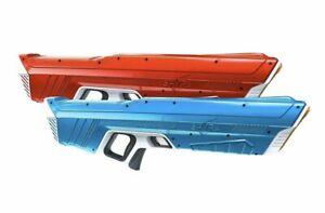 Spyra One Dual Water Gun Set Red And Blue - David Dobrik TikTok