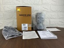 Nikon AF-S Nikkor 85mm f/1.8G 1.8G Portrait/Telephoto Lens Japan Boxed Unused