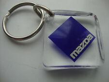 1 x MAZDA KEY RING* SEE THRU PLASTIC* KEY CHAIN *KEYFOB* TOP QUALITY oem444 *NEW