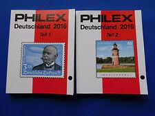 Briefmarken-Katalog  Philex zusammen Deutschland 1.u.2. Teil    2016   6,99 Euro