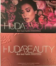 Huda Beauty rose gold remastered Eyeshadow Palette SHIP US FREE