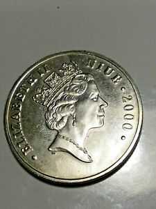 2000 - Niue 50th Anniversary Of Peanuts Snoopy/Woodstock Coin