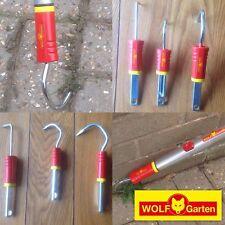 NEW 3 SET WOLF GARTEN TOOL GARDEN WEEDING SCRAPER RAKE FOMULTI CHANGE HANDLE LOT