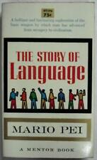 B0007DUZT6 The story of language (A Mentor book)