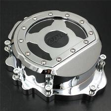 Motor Engine Stator cover see through HONDA CBR600RR F5 2007-2012 CHROME left