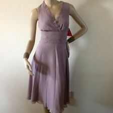 Calf Length Polyester V Neck Ballgowns for Women