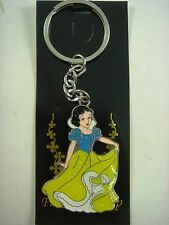 Princess Snow White Keyring Keychain Enamel Charm Party Bag Fillers Kids + GIFT