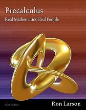 Precalculus: Precalculus : Real Mathematics, Real People by Ron Larson (2011,...