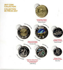 ➡➡ 🍁🍁 2017 Canada 150 My Inspiration 7 Coin SET BU Uncirculated Glow Toonie 🍁