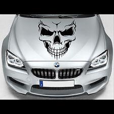Evil Skull XXL Motorhaube Aufkleber Sticker Auto Tuning Totenkopf 56,0 x 80,0 cm