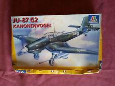 Maquette Neuve ITALERI 1/72 Avion JU-87 G2 KANONEN VOGEL