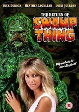 The Return of Swamp Thing 1989 DVD
