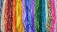 Joblot 36 strings 4mm Mixed colour bicone Crystal beads new Wholesale lot A1