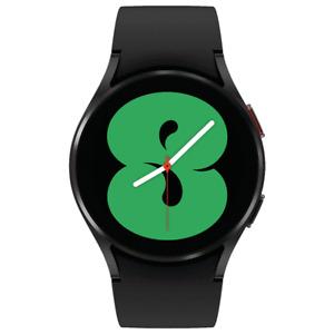 Samsung Galaxy Watch 4 40mm Smartwatch SM-R860NZKCXAA w/ Black White Bands