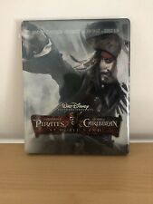 pirates of the caribbean At Worlds End Blu Ray Rare steelbook