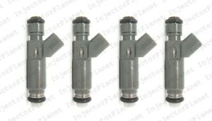 Set of 4 Denso 4670 Injector 06-08 Chevrolet Cobalt Malibu HHR 2.2L 2.4 12582704