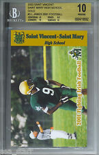 2003 LEBRON JAMES ST VINCENT ST MARY HIGH SCHOOL GOLD BGS 10 PRISTINE #3