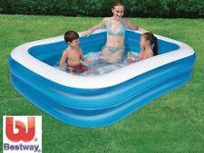 Family Pool Familienpool Rechteckpool Planschbecken 211 x 132 cm Bestway