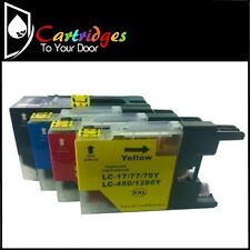 Premium Compatible LC-77 / LC77 XL Inkjet 4 Cartridge Set For Brother Printers