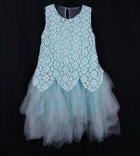 Trish Scully Child Dress 14 Lady Marabella Pale Blue Lace Tulle Tutu