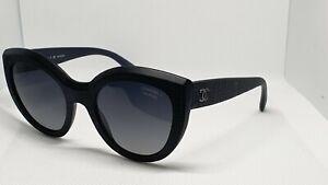 Sunglasses Chanel 5331 501/S8 Black Cateye Caliber 51mm